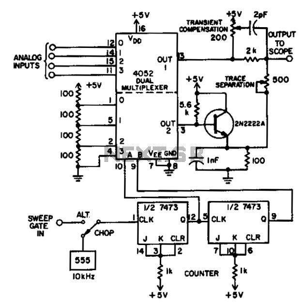 Analog multiplexer  - schematic