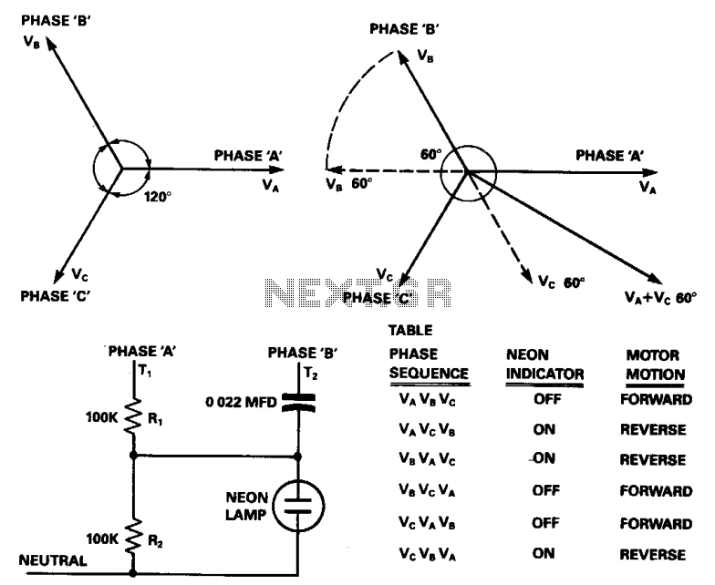 Phase reversal detector 