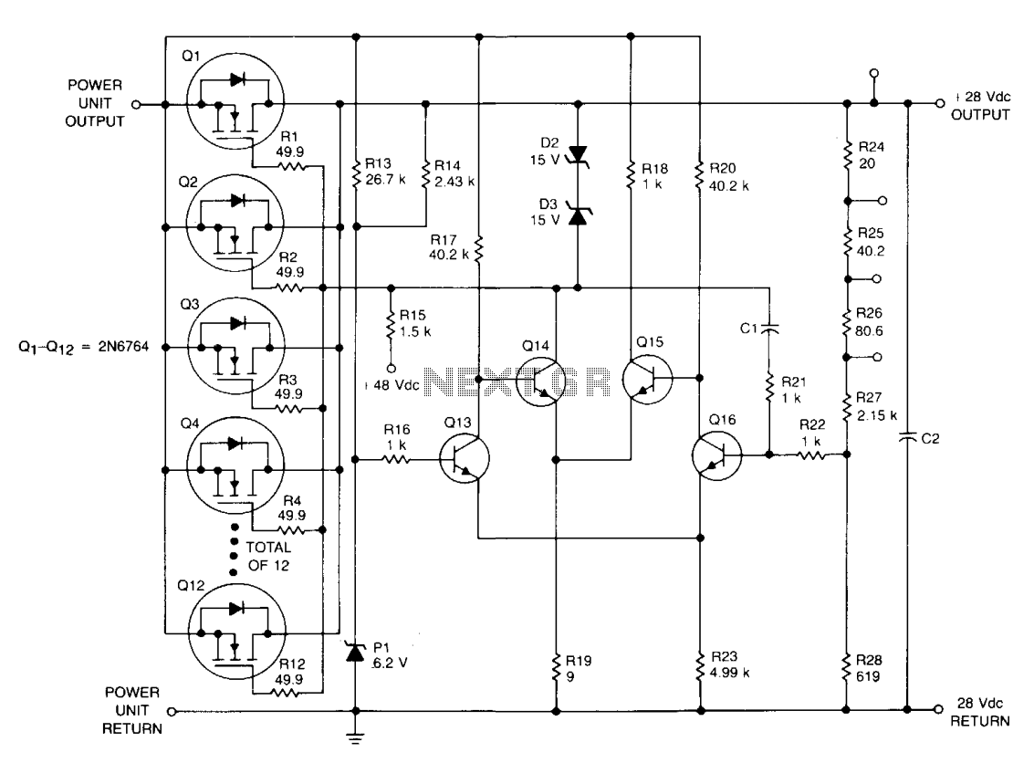 linear regulator  - schematic