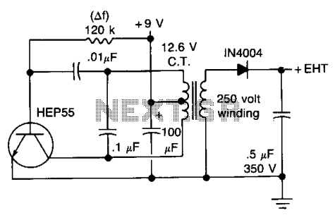 new circuits page 636 next gr high voltage geiger counter supply