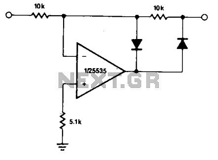 Half-wave rectifier  - schematic