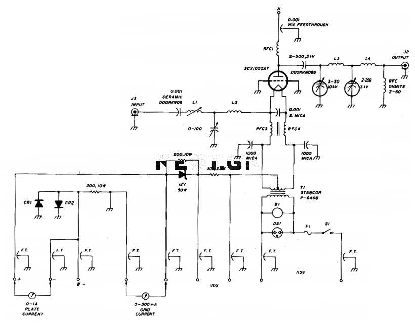 6Meter kilowatt amplifier