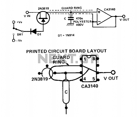 Performance sample and hold  - schematic