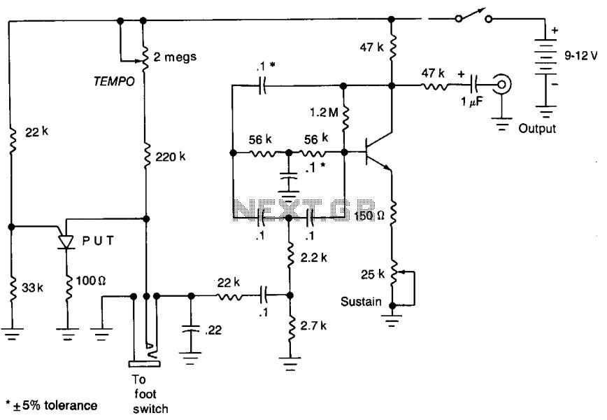 Autodrum  - schematic
