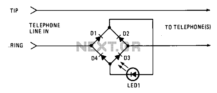telephone ringer circuit   telephone circuits    next gr