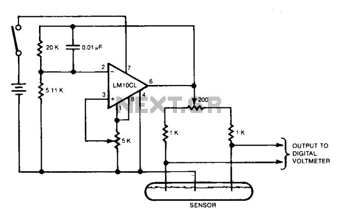 Tilt-meter  - schematic