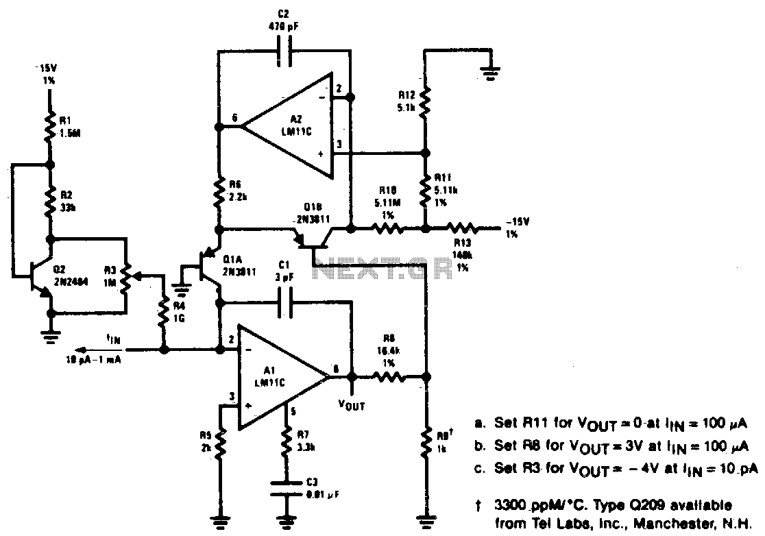 Audio Amplifier Circuit Circuits Water Sensor Alarm Using Lm380 Electronic Projects Logarithmic
