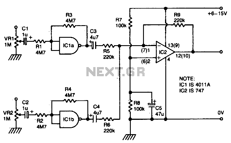 Audio Mixer Circuit Audio Circuits Next Gr