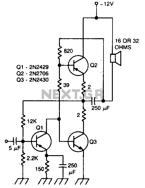 u0026gt  audio  u0026gt  amplifiers  u0026gt  direct coupling audio power amplifier configuration a741 circuit l57230