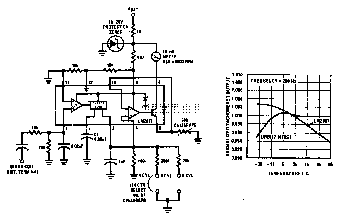 New Circuits Page 222 Http Circuitdiagramhqewnet Adjustablevoltageregulatorcircuit Gasoline Engine Tachometer