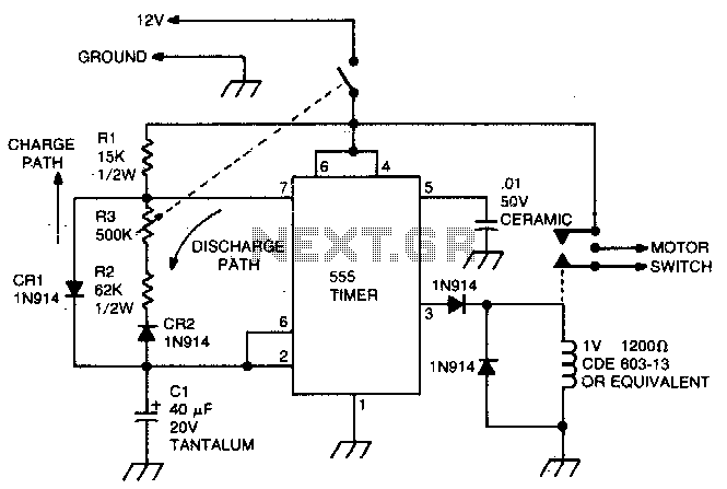 circuit for ac motor