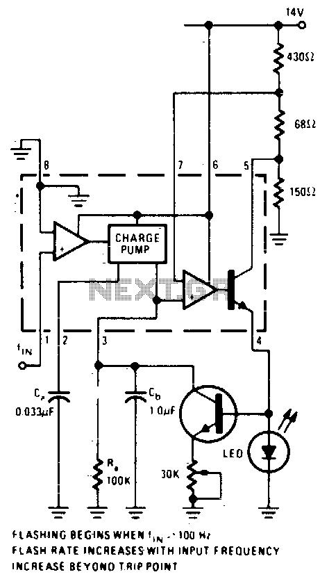Overspeed indicator - schematic