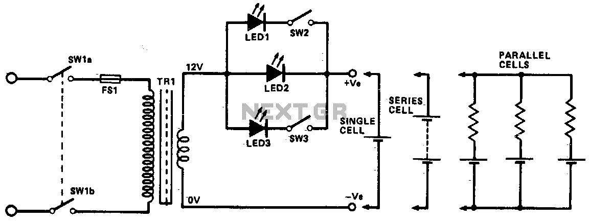 Ni-cad charger - schematic