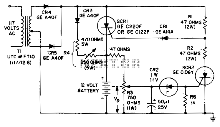 battery charger circuit power supply circuits next gr battery charging regulator