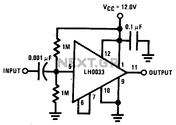 u0026gt  other circuits  u0026gt  buffer circuits  u0026gt  strain gauge instrumentation amplifier l13392