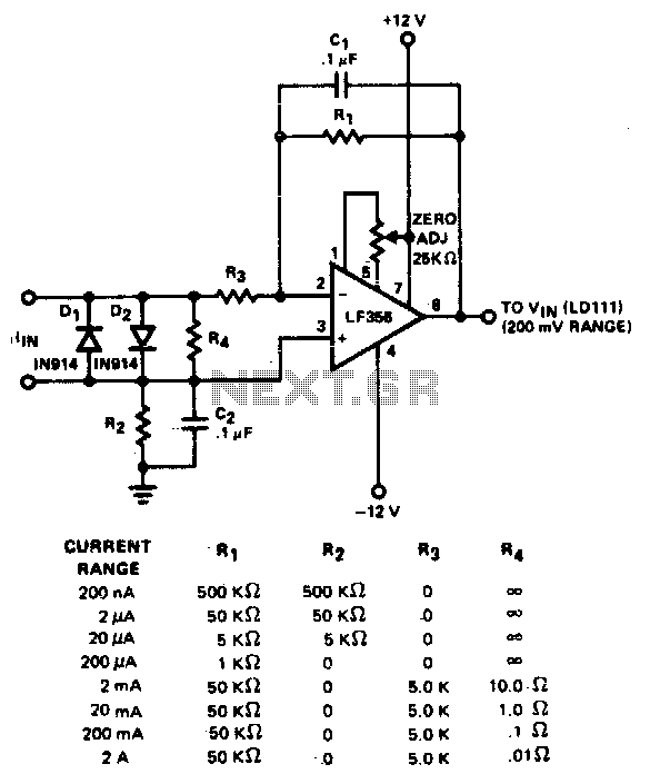 current to voltage circuit   converter circuits    next gr