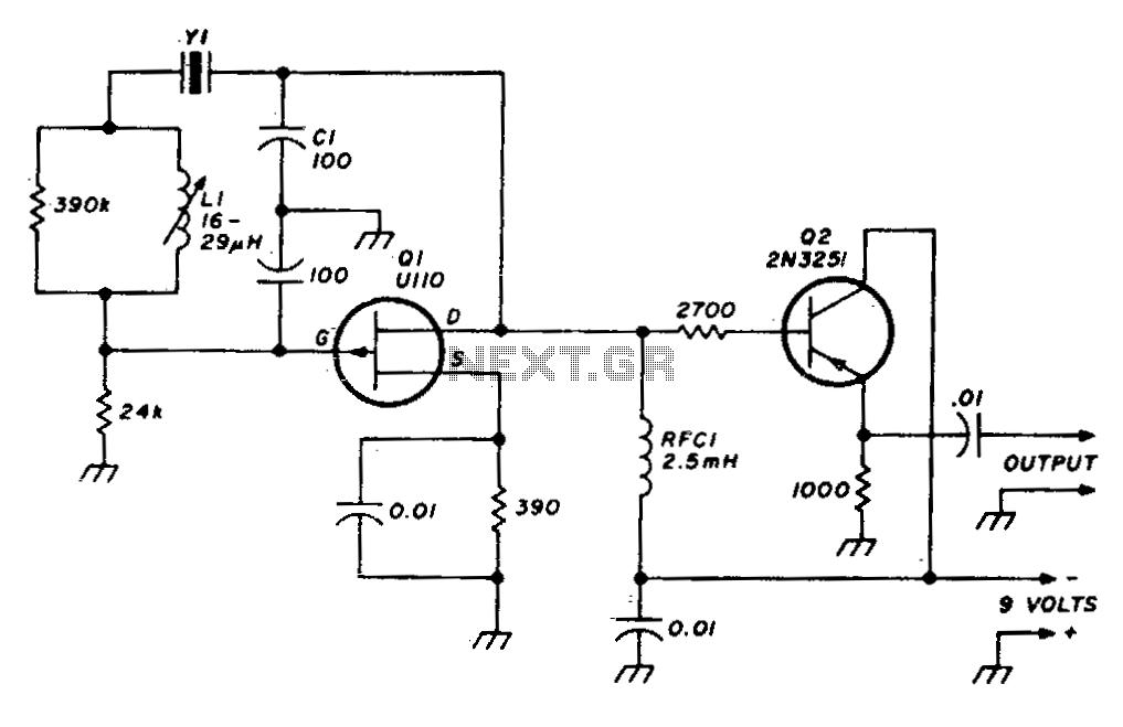 crystal oscillator circuit page 2   oscillator circuits