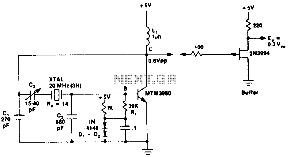 pierce oscillator circuit   oscillator circuits    next gr