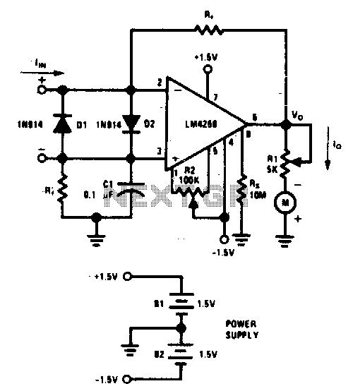 meter circuit page 2   meter counter circuits    next gr