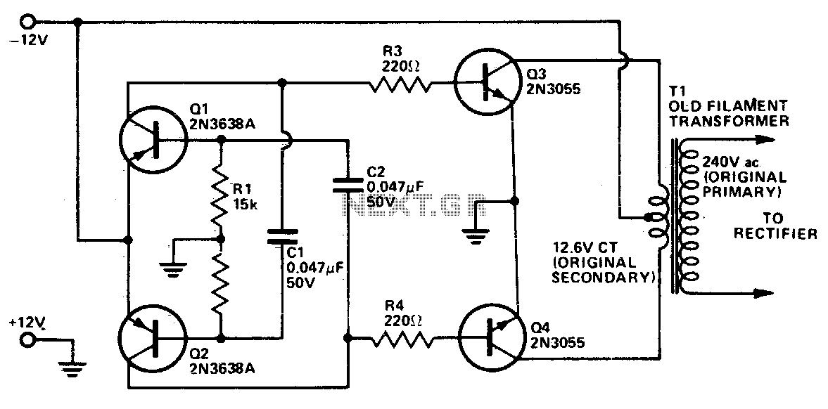 DC To DC AC Inverter L12654 on security camera wiring diagram