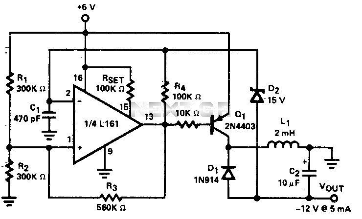 Regulated DC-to-DC converter