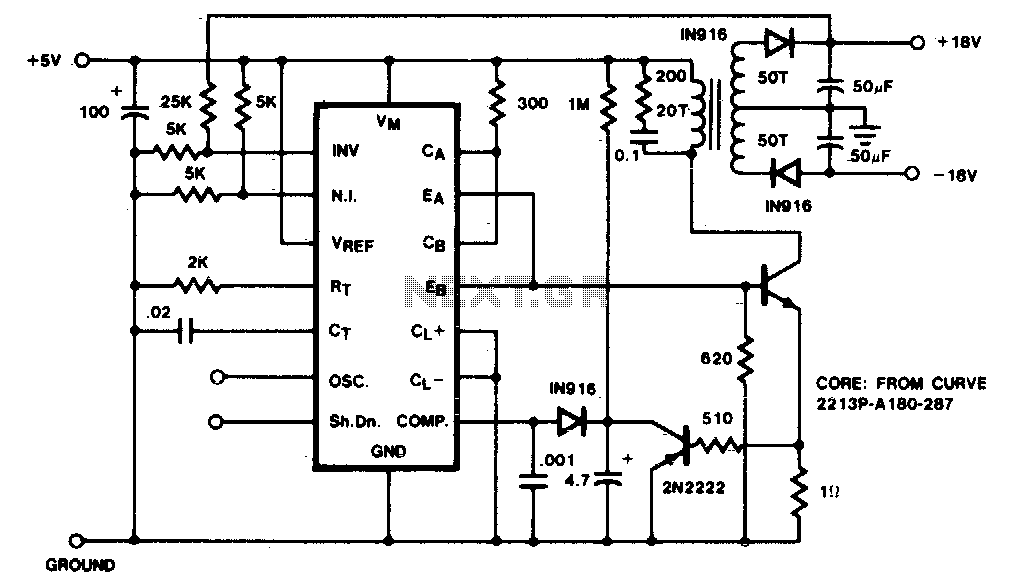flyback converter under inverter circuits