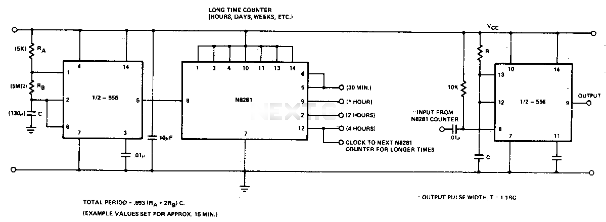 Long time delay - schematic