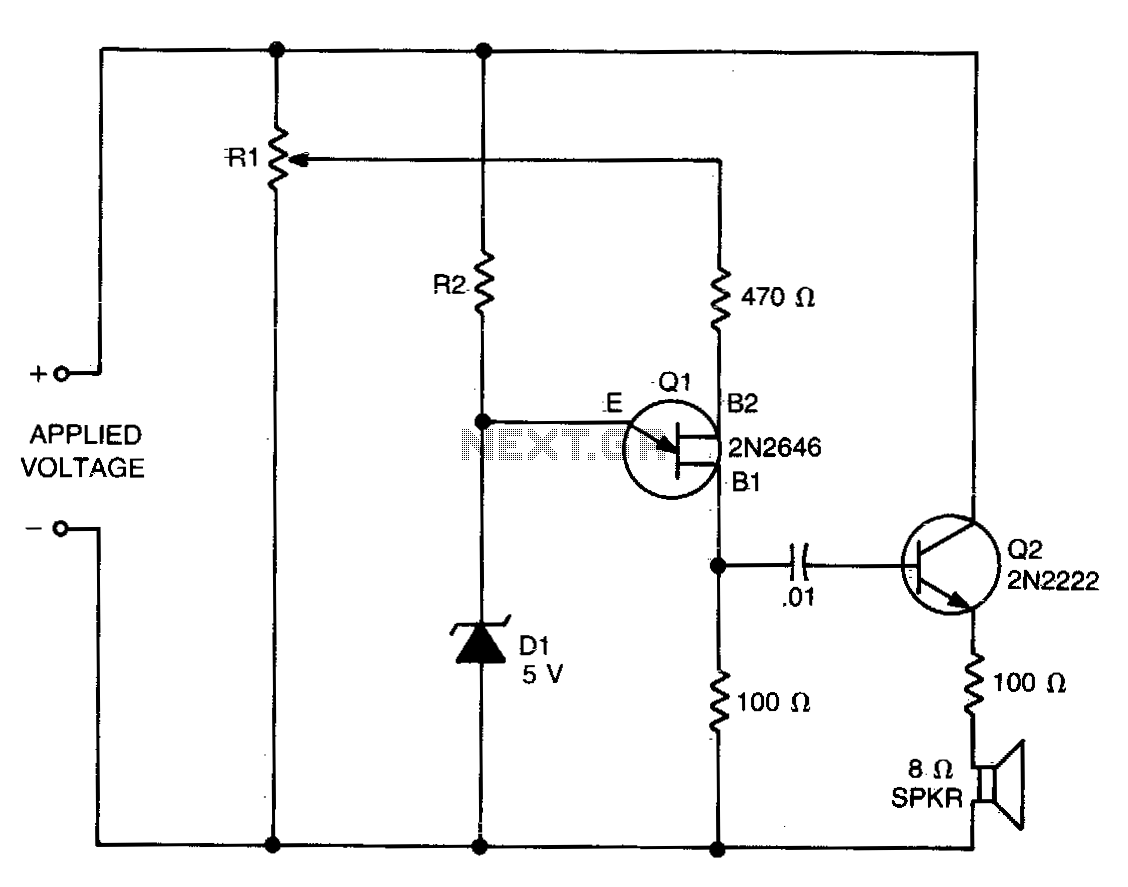 Low voltage detector - schematic