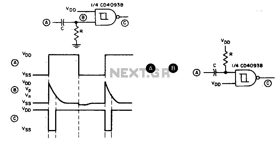 pulse counter circuit diagram