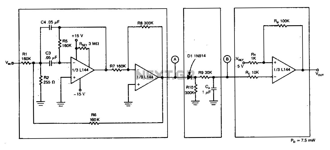 Tone detector - schematic