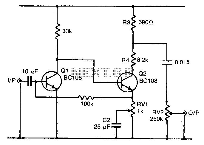 Fuzz box 3 - schematic