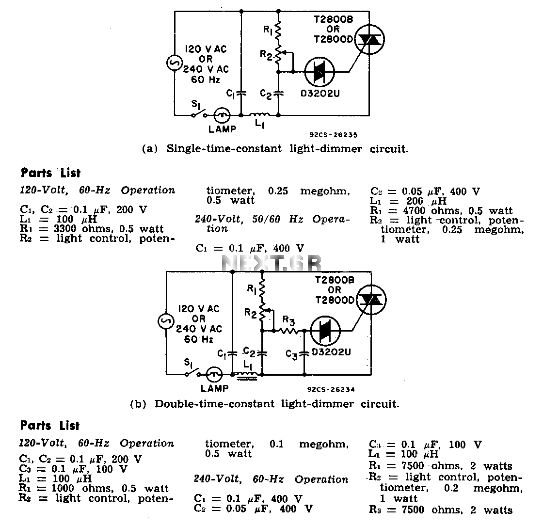 light dimmer circuit light laser led circuits next grIr Light Dimmer Circuit Diagram For Household #18