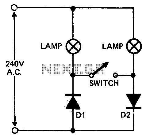Floodlamp power control