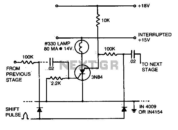 Shift register - schematic