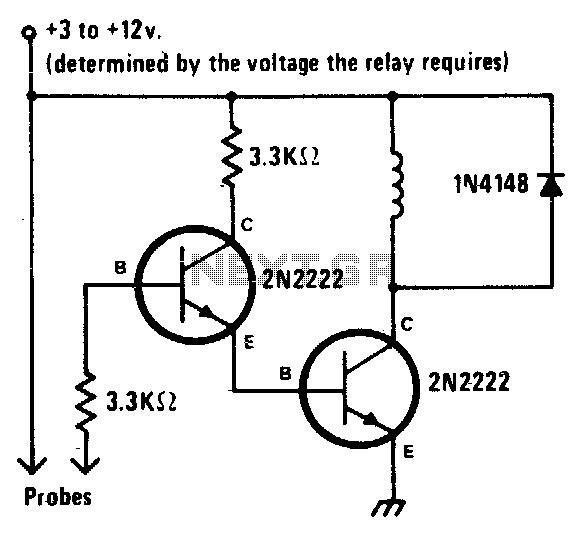 liquid sensor circuit   sensors detectors circuits    next gr