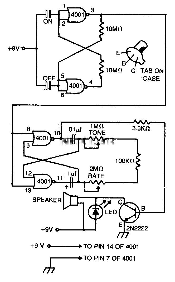 Micrometronome - schematic