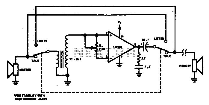 Intercom - schematic