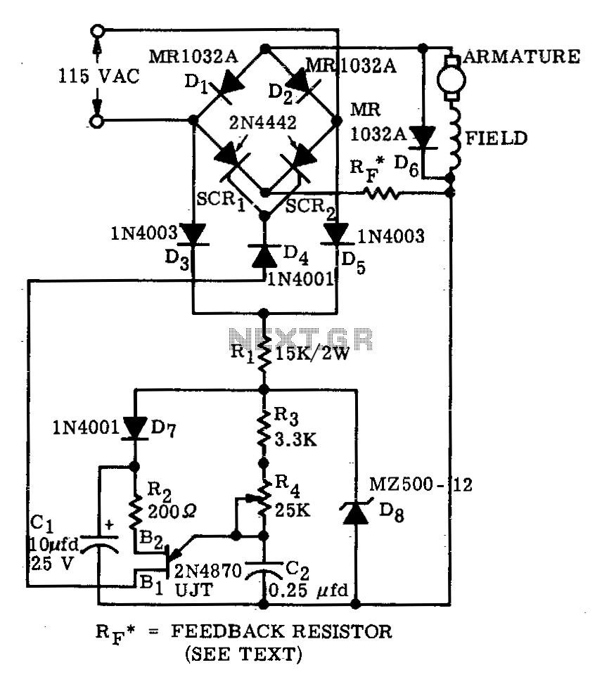 Motor control circuit automation circuits for Schematic diagram of dc motor