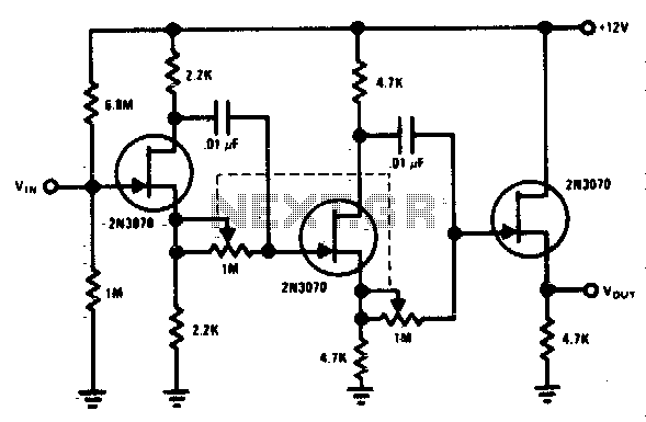 0 to 360 phase shifter - schematic