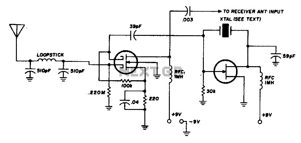 radio receiver circuit diagram  diagram  auto wiring diagram