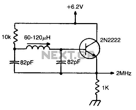 rf radio frequency oscillators circuits electronics tutorial and rh hobbyprojects com Ring Oscillator Circuit Ring Oscillator Circuit