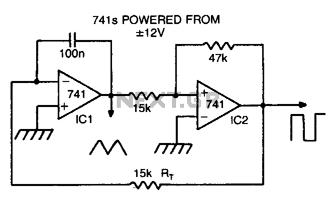 Square Wave And Sine Wave Generator Circuit Sensorcircuit Circuit
