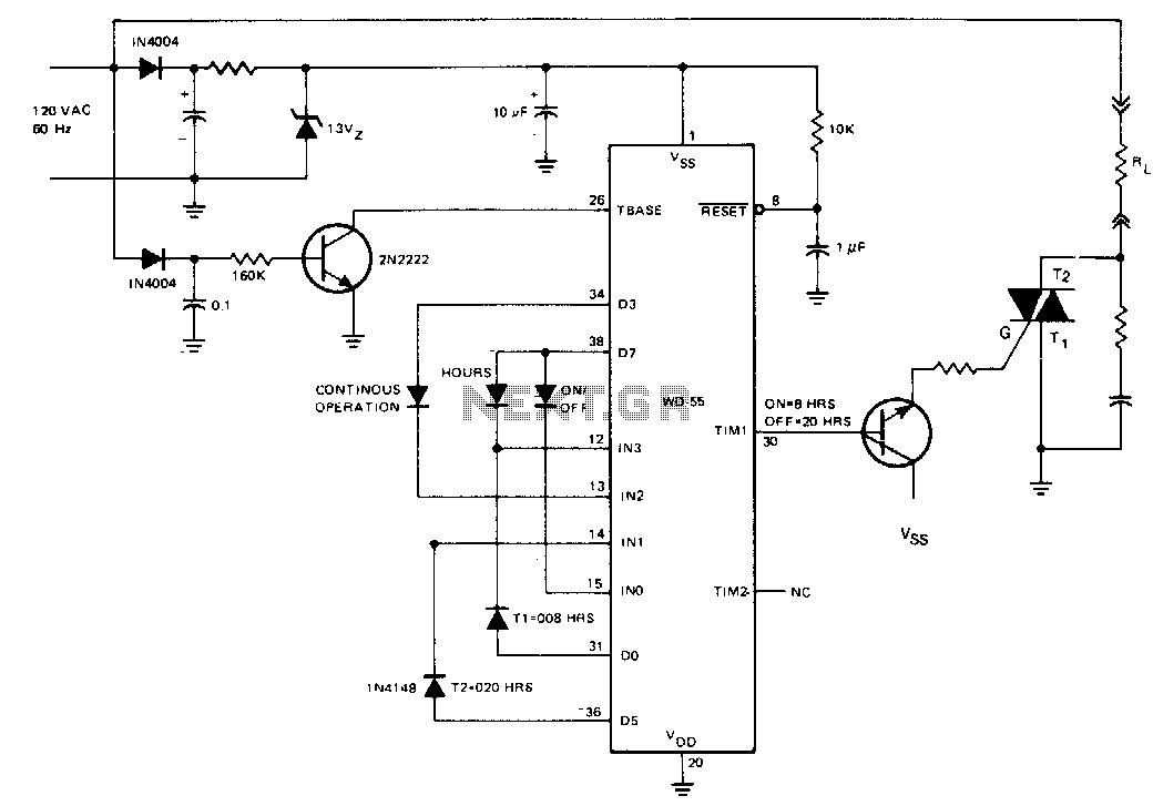 On-off controller - schematic