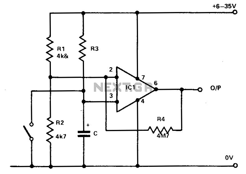 741 Timer - schematic