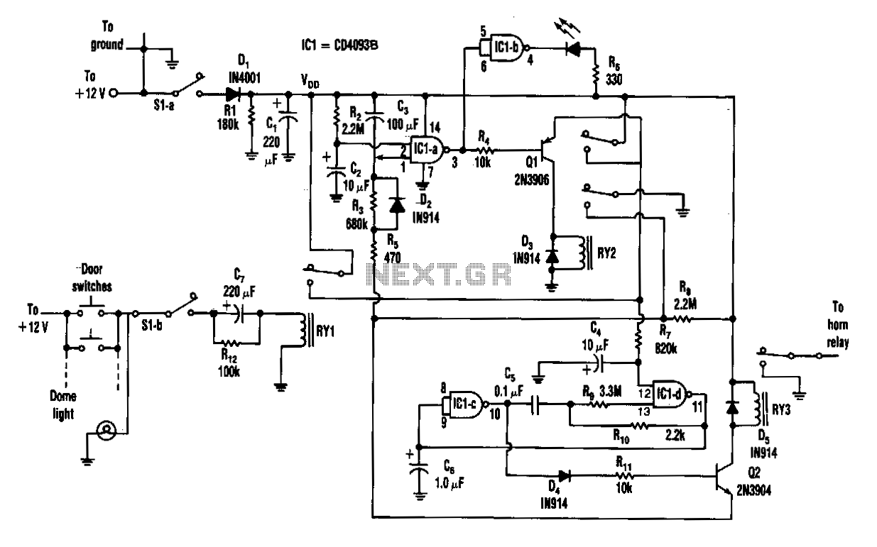 Semiconductor-fail-alarm - schematic