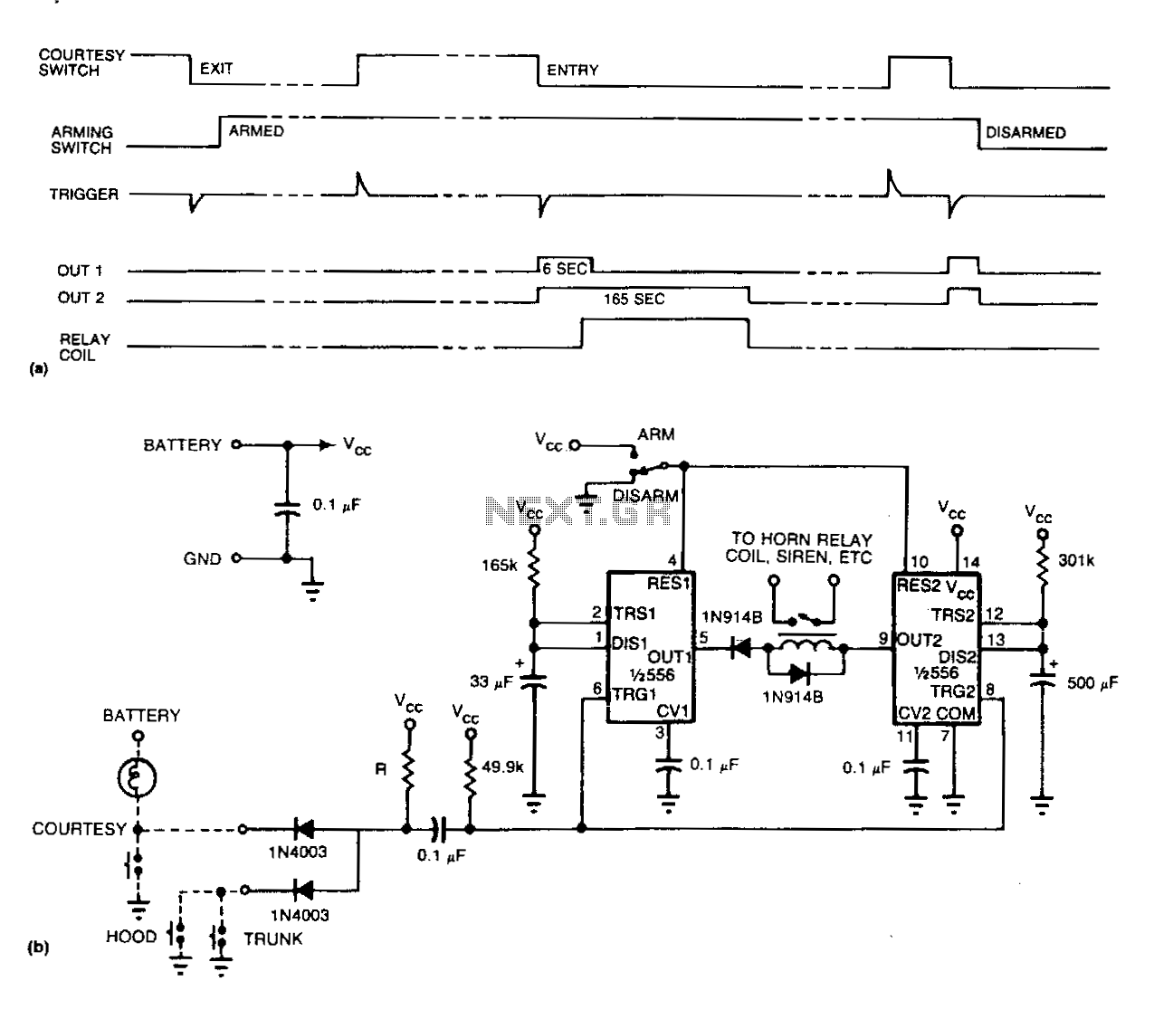 Easy-auto-alarm - schematic