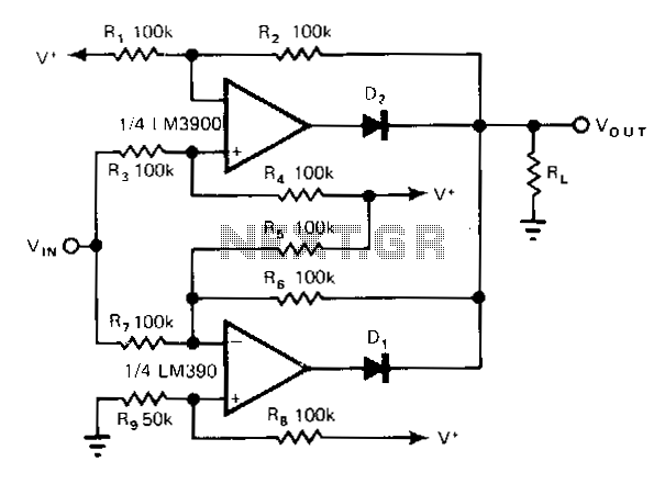 Norton-amplifier - schematic
