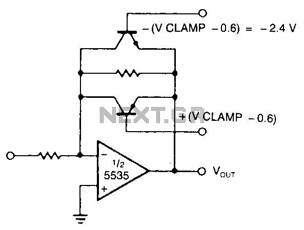 Active-limiting-amplifier - schematic