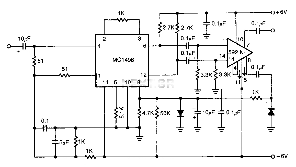 Quick view of Wide-band-agc-amplifier