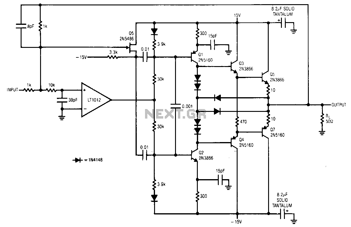 Current-booster - schematic